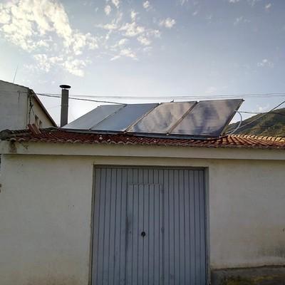 Instalación placas solares padul