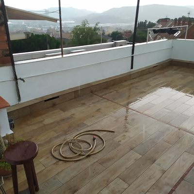 Terraza transitable