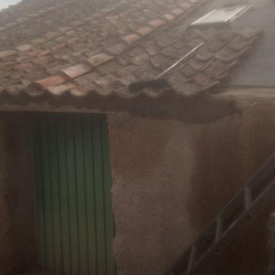 Tejado teja curva árabe Segovia
