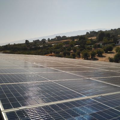 Placas Solares Nave