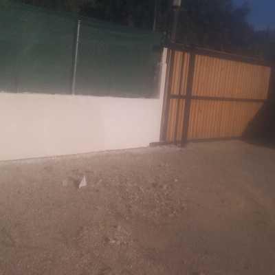 Muro y vallado