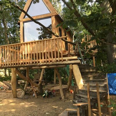Casa en el árbol (República Checa)
