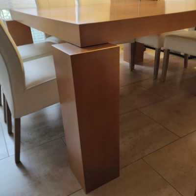 Pata mesa comedor