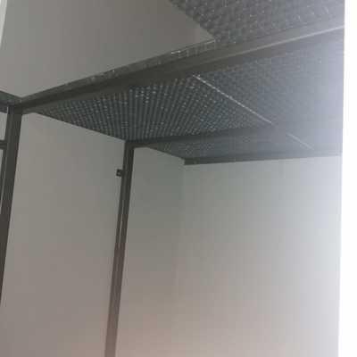 Doblar espacio en el trastero  utilizando tramex