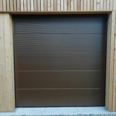 Puerta seccional automática acabado microperfilado