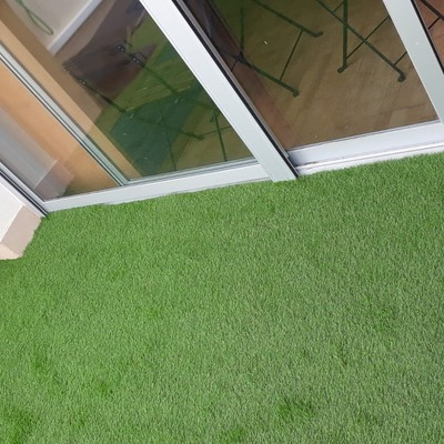 Cesped artificial terraza 40 mm