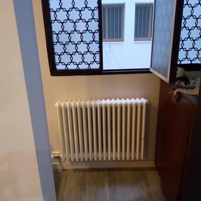 Instalacion de calefaccion con radiadores de diseño