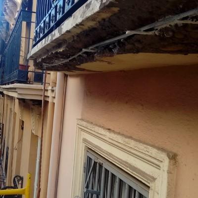 Reparación balcón en fachada 2