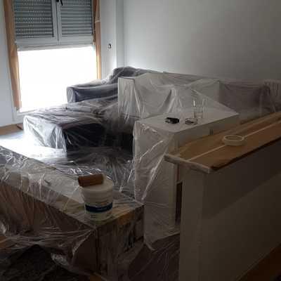 Preparación salon