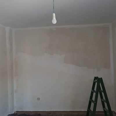 Preparación paredes