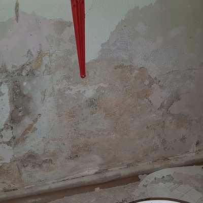 Reparación de pared