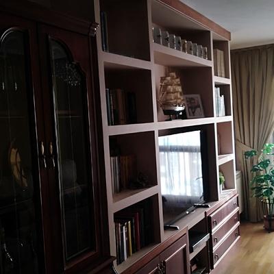 Terminación de mueble de pladur