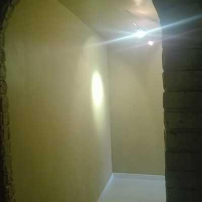 Pintar piso moderno