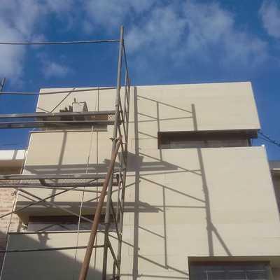 Antes pintura fachada