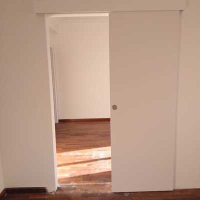 Construir habitación con puerta corredera