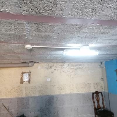 Sensor de luz en garaje