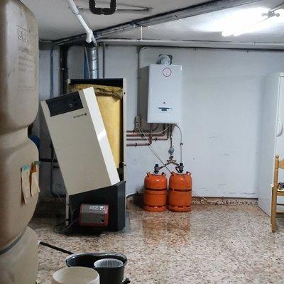 Sustitución caldera gasoil por caldera de propano