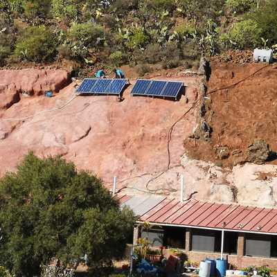 Fotovoltaica en una vivienda Rural