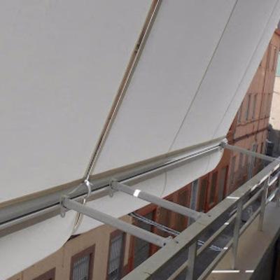 Toldos de balcon con 3 posiciones
