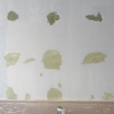 Preparaciónes de azul a verde satinado