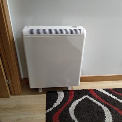 Instalación calefacción eléctrica (después)