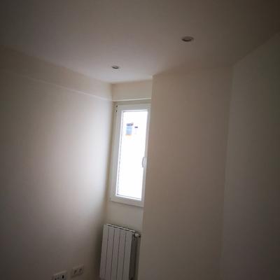 Pintura y colocación de radiador