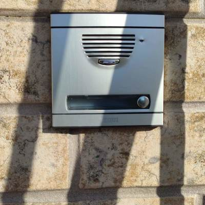 Instalación de portero automático Tegui en vivienda unifamiliar