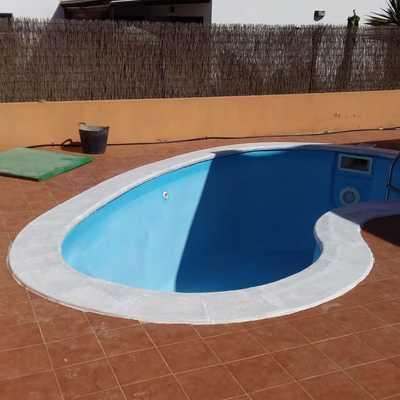 Reparación pintura piscinas
