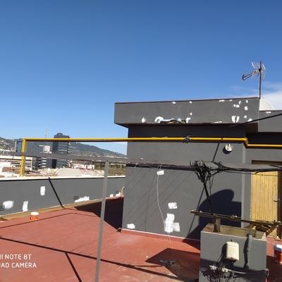 Reparación de revestimiento de terrado