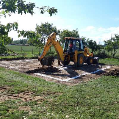 Escavavion de chalet