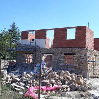 Casa de cementación aislamiento revestimiento