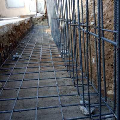 Hierro muro contención