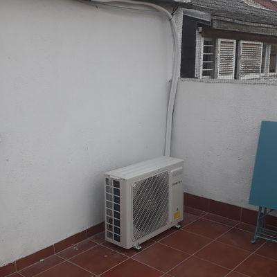 Unidad exterior balcón