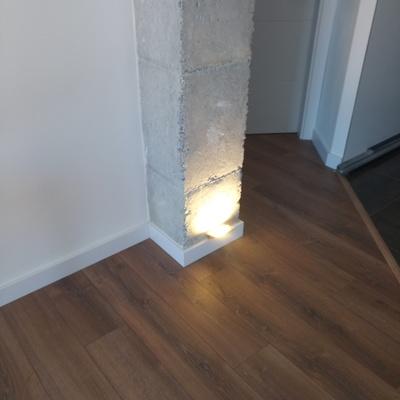 Luz decorativa.