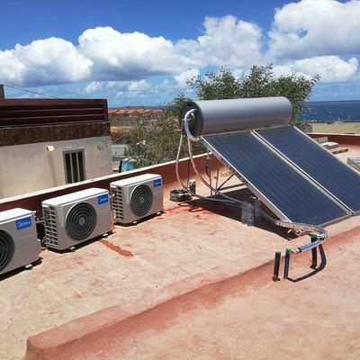 Instalación de Aire A.C. y SOLAR TERMICA