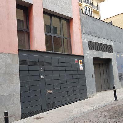 Puerta pintada