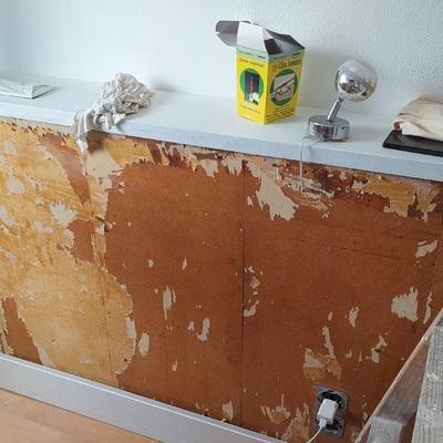 Antes de la restauración (Cabezales y mueble)