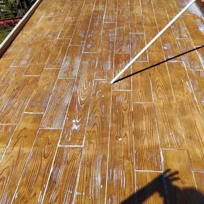 Madera ejecutada en 1 cm de impreso tenovacion de terrazas