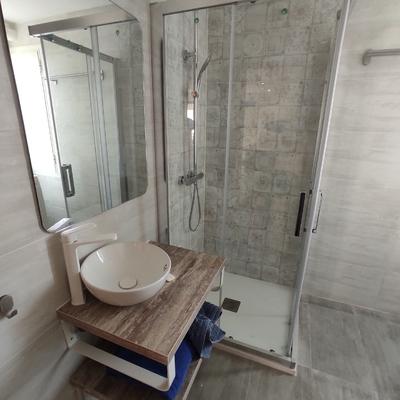 Reforma completa con azulejos serie Novaterra