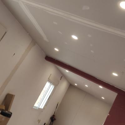 instalacion downlights reforma piso 2
