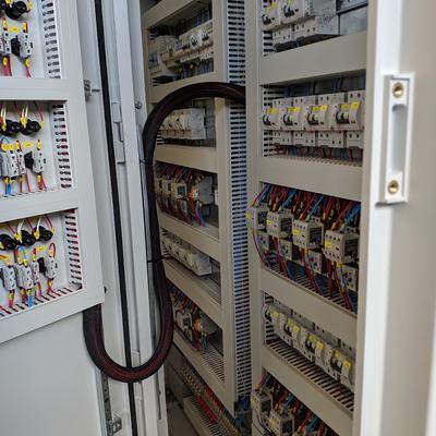 Control de motores depuradora