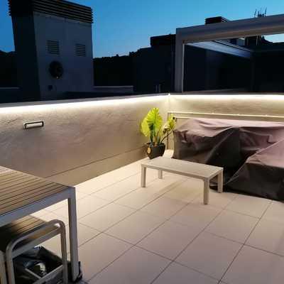 Luminado de terrazas