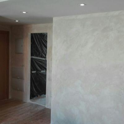 alisado de paredes y pintura decorativa