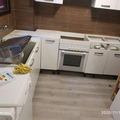 cocina cambio de encimeras