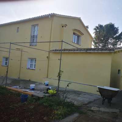 Rehabilitación y Pintura de fachada completa