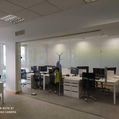 Separación de oficinas