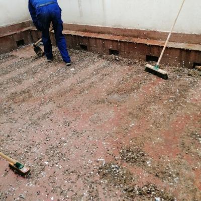 Limpieza y desinfeccion terrazas