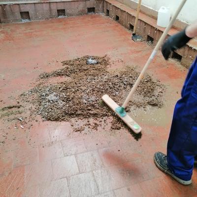 Limpieza y desinfeccion terrazas - cubiertas