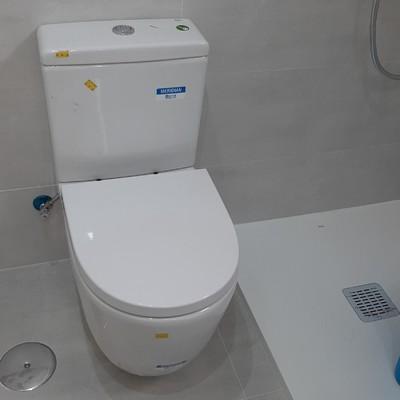 Instalación de inodoro