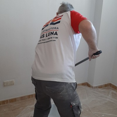 Pintado de interiores de vivienda